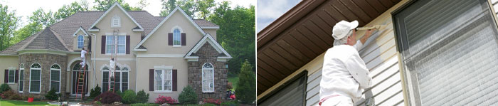 Painting & Power Washing in CT, including Greenwich, Darien & New Canaan.